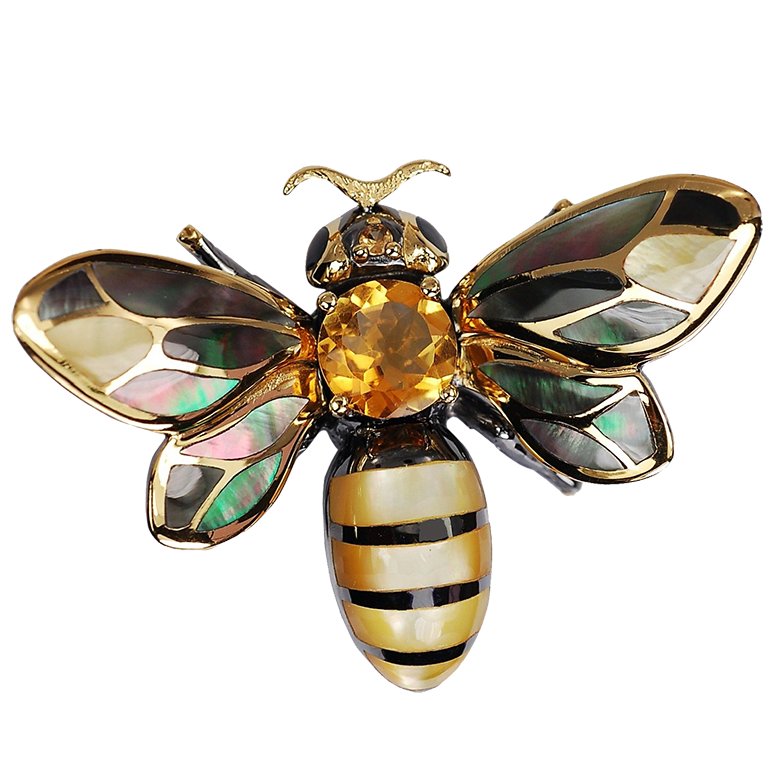 Fancy Honey Bee